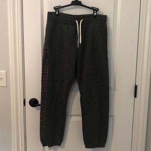 Under Armour dark grey sweatpants. Barely worn.
